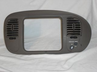 F150 Radio Bezel Dash Trim Ford Expedition Navigator 97 98 99 00 01 02 Tan