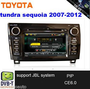 2007 2011 Toyota Tundra Sequoia DVD GPS Radio iPod Bluetooth Support JBL System