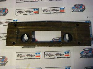 Dodge Rallye Dash 69 70 B Body Charger Woodgrain Radio Bezel