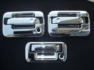 Chrome Door Handle Tailgate Covers for Ford F150 04 13 3K