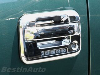 Triple Chrome Door Handle Trim Kit Ford F150