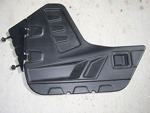 Brandon's Yamaha Rhino 660 700 Stock Black Plastic Left Right Hinged Door