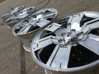 "20"" Ford F150 Expedition Platinum Limited Factory Stock Chrome Wheels Rims"