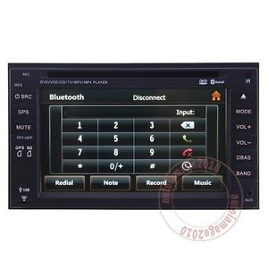 Car GPS Navigation Radio TV DVD iPod Bluetooth Player for 2004 11 Nissan x Trail