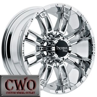 20 Chrome Crusher Wheels Rims 6x135 6 Lug Ford F150 Expedition Lincoln Navigator