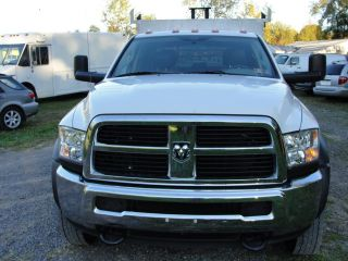 2012 RAM 4500 5500 Cummins Diesel Car Hauler Utility Flat Bed Truck Repairable
