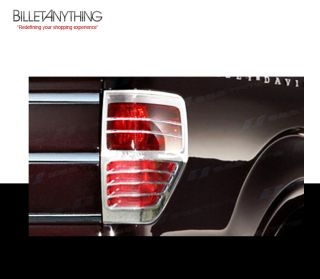 Ford F150 Full Cover Chrome Tail Light Trim