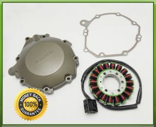 1set Engine Cover Generator Stator Fit Honda CBR 1000RR 2004 2005 with Gasket