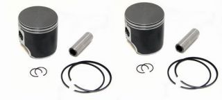 2 SPI Piston Kits Ski Doo MXZ670 HO MXZ 670 Standard Bore 78mm 1999
