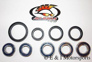 2005 2012 Honda CRF450X CRF 450X Front Rear Wheel Bearings Seals Kit