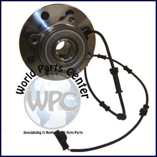 NEW FRONT WHEEL BEARING HUB ASSEMBLY WITH ABS 4X4 4WD