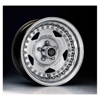 "Center Line Wheels Modular Series Convo Pro Polished Wheel 15""x10"" 4x4 5"""