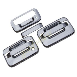 04 11 Ford F150 Chrome Door Handle Tailgate Covers 1K H