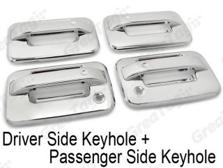 04 12 Ford F150 Pickup Mirror Chrome Door Hanlde Cover Overlay C