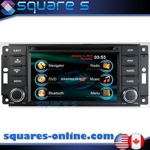 2011 12 13 Dodge Grand Caravan DVD GPS Navigation Radio Bluetooth USB CD Stereo