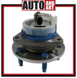 New Front Wheel Hub Bearing Assembly w ABS Sensor Stainless Steel Wire Clip