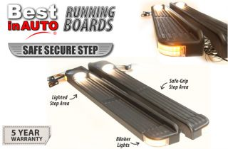 Running Boards Double Lighted OE Factory Style 2001 2004 Ford Explorer Sport