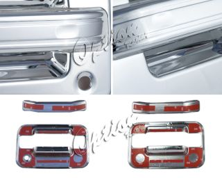 04 05 11 Ford F150 Chrome 4pc Door Handle Cover F R Set