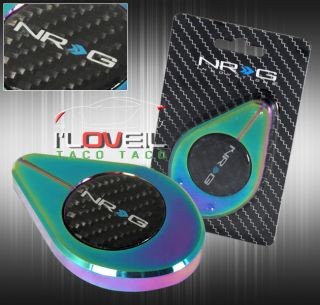 NRG RDC 100MC Aluminum Radiator Engine Bay Cap Cover Decoration Neo Chrome Coat