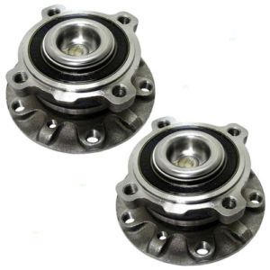 New Pair Set Front Wheel Hub Bearing Assembly BMW 5 Series Z8 Aftermarket