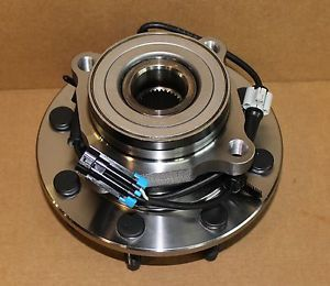 1 New Front 2001 2007 GMC Chevy 2500 Front Wheel Hub Bearing Assembly 4x4 ABS