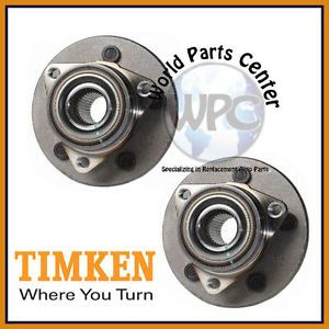 TIMKEN 2 Front Wheel Bearing Hub Assembly Ford F150 4x4 Rear Wheel ABS