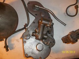 1931 Indian Scout 101 Engine Cover Oil Pump Motor Original Vintage Motorcycle