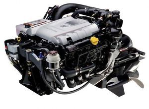 New Mercruiser Vazer 1 6L 100 HP Mercury Marine Boat Engine Warranty