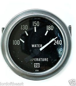 Stewart Warner Water Temp Gauge
