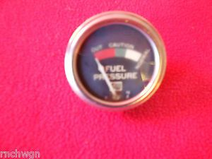 Vintage Stewart Warner 2 1 8 Big Logo Fuel Pressure Gauge Hot Rod Traditional