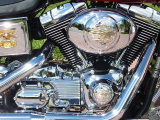 2004 Dyna Wide Glide Custom Chrome Low Miles Runs Perfect Looks Like New Save $$