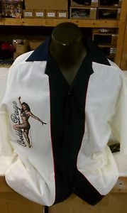 Bettie Page Bowling Shirts