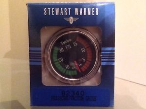 Stewart Warner Turbo Boost Gauge 1987 Buick GNX Grand National 87 Regal GN
