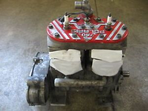 Used 700 Polaris Snowmobile Engine 02 03 Edge RMK XC SP Pol Eng 1
