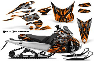 Yamaha FX Nytro 08 12 Snowmobile Sled Graphics Kit Creatorx BTO