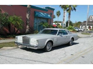 1978 Lincoln Mark V 460 V8 Engine Automatic A C Special Order Car Original