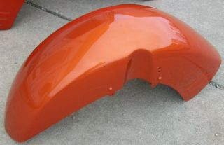 02 VTX1800 Honda VTX1800R VTX1800S New Front Fender VTX 1800 Pearl Orange