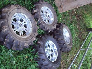 ITP SS Wheels Yamaha Grizzly and Kawasaki Brute Force