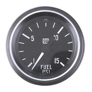 New Stewart Warner HD Mechanical Fuel Pressure Gauge