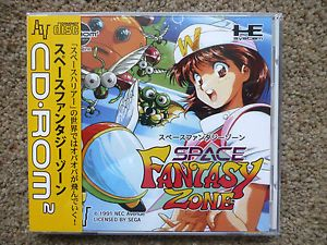 Space Fantasy Zone NEC PC Engine CD ROM2 Turbo Grafx 16 Turbo Duo Sega SEALED