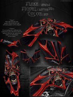 "Yamaha Raptor 660 Graphics for Plastics Parts ""The Demons Within"" Decals"
