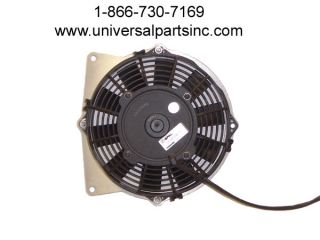01 05 Yamaha Raptor 660 Radiator Spal Cooling Fan OE 5LP 12405 00 00