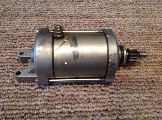 Yamaha ATV Raptor 660 Starter Motor Assembly Fits 2001 2002 2003 2004 2005