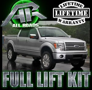 AR 2004 2013 Ford F150 Full Lift Leveling Kit 4WD 4x4 Front Rear