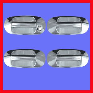 03 09 Ford Expedition Chrome Door Handle Cover Bezel 08