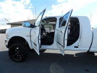 Dodge RAM Mega Cab Laramie 4x4 Custom New Lift Wheels Tirescummins Diesel Nav