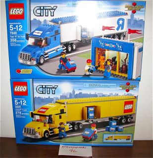 New Lego 7848 3221 City Truck Toys R US Big Rig Store