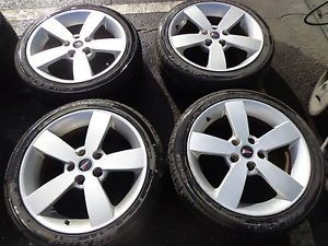 "04 05 06 Pontiac GTO 18"" Silver Wheels Rims Tires Falken GM 235 40 18"