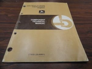 John Deere K Liquid Cooled Engine Service Manual