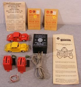 Original AC Gilbert Auto Rama 1 32 Ford Slot Cars Accessories 19092 Speed Bowl